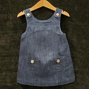 2yrs Girls Gap Denim Jean Dress